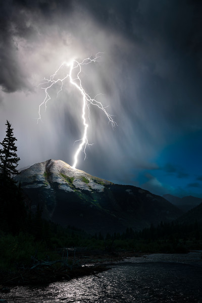 Lightning on the San Juans