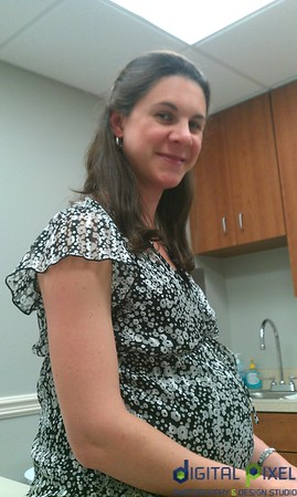 Karla at Dr. appointment.
