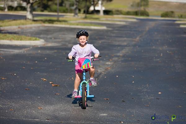 Kadence on bike