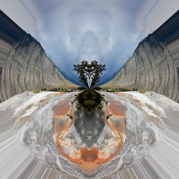 Polarization 215: MAMMOTH HOT SPRINGS 3