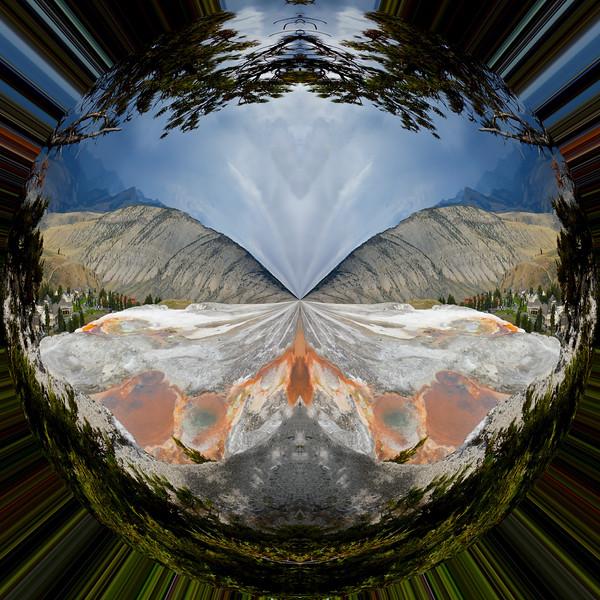 Polarization 216: MAMMOTH HOT SPRINGS 4