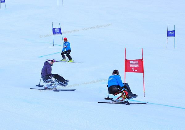 Adaptive Ski and Snowboard Racing