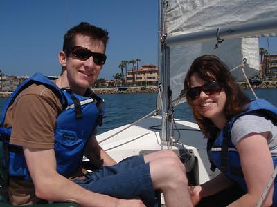 Sailing 4-9-09