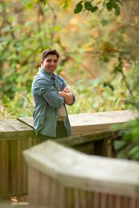 Senior photoshoot at Nisqually Wildlife Refuge in Olympia, Washington. October 20, 2020,  (Matt Ferris)