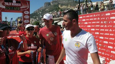 Tristan Valentin - Coureur Cycliste Professionnel -> Franck Esposito - Champion du Monde de Natation