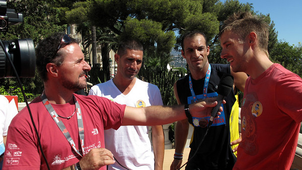 Franck Esposito - Champion du Monde de Natation -> Christophe Pinna - Champion du Monde de Karaté -> Tristan Valentin - Coureur Cycliste Professionnel