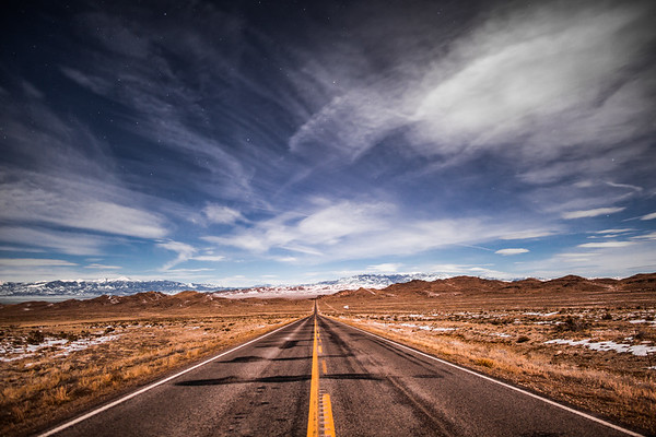 Loneliest Highway In The World, Nevada