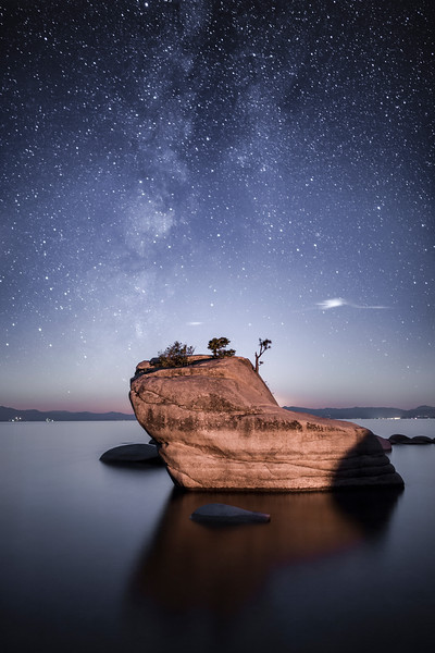 East Shore Milky Way, Lake Tahoe, Nevada