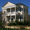 The Brewton Plan by Allison Ramsey Architects built on Daniel Island near Charleston, South Carolina. This plan is 2392 Heated Square Feet, 3 Bedrooms, Study and 2 1/2 Bathrooms.