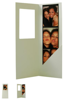 White photo booth envelope <br /> <br /> Can be customized with a sticker <br /> <br /> 1.25 cents each min order 100