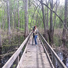 Stephanie at Twin Swamps, Posey County, Indiana.  April 2014.