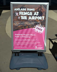 Adelaide Fringe 2016 - Fringe At The Airport