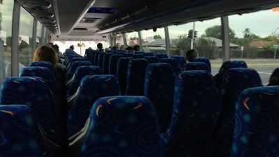 Then the busses became 2+3 which was very tight