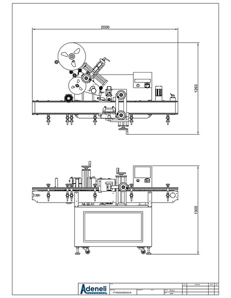 Standard LabelOn Basic 500-BCD Layout