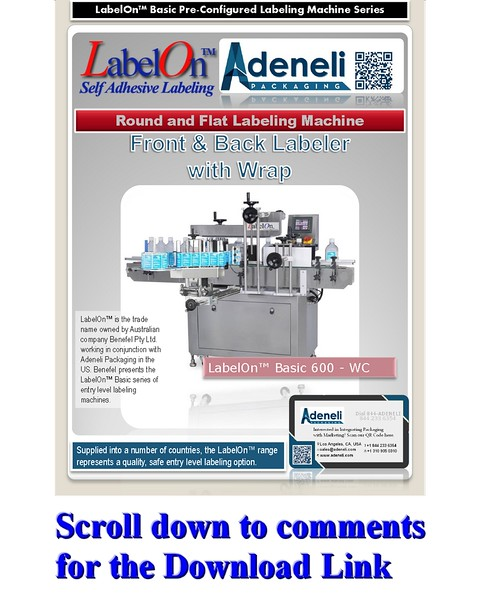 LabelOn™ Basic Double Sided plus Wrap Brochure