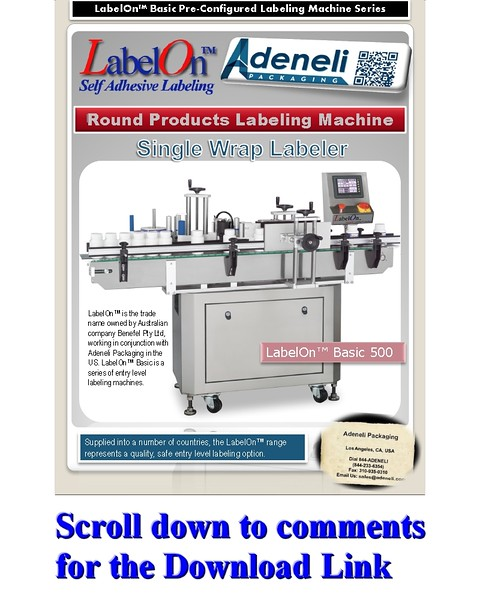 LabelOn™ Basic Wrap to 85% Labeling Machine Brochure