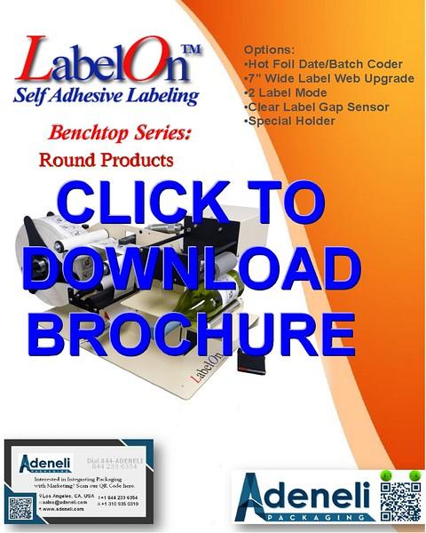 LabelOn™ Benchtop – Round Labeler