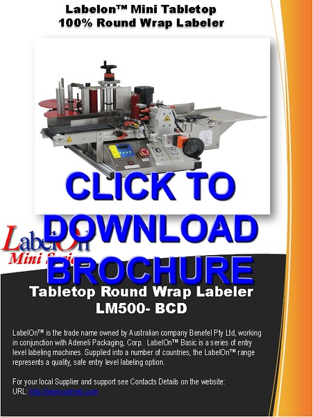 LabelOn™ Mini – Full Wrap Labeler