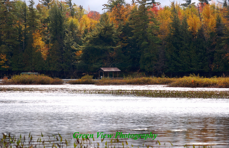 Boat House on Raquette Lake