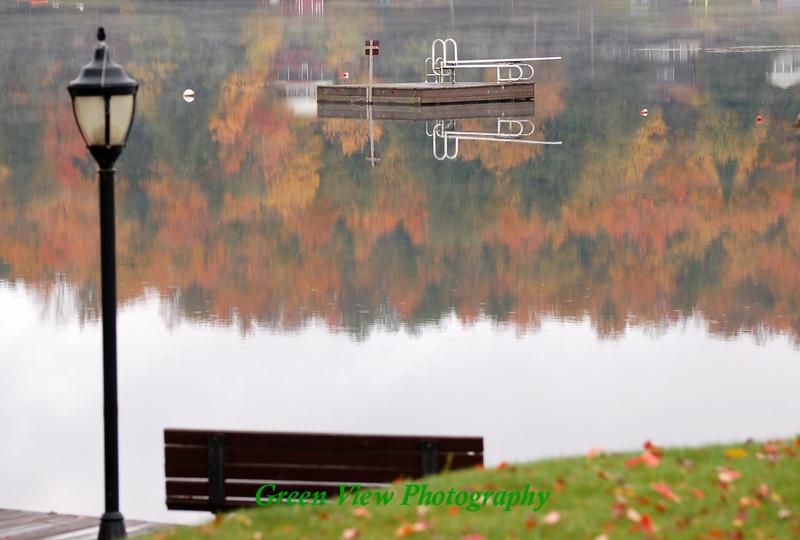 Swim Dock Reflection