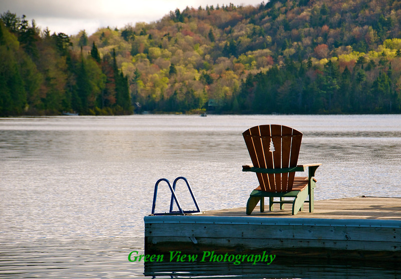 Twitchell Lake View