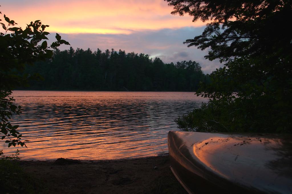 Evening Sunset, Rollin Ponds