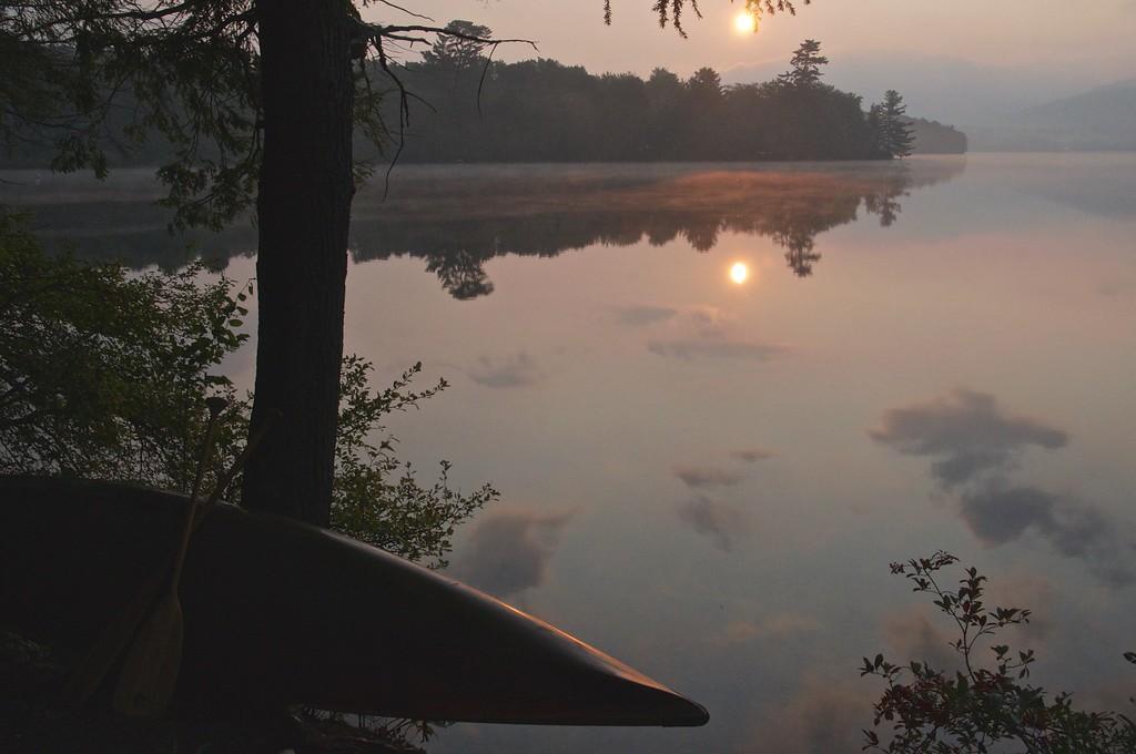 Beautiful Morning Sun - Limekiln Lake