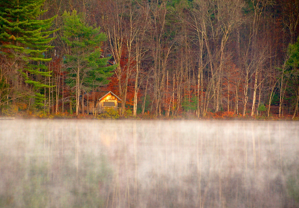 Cabin on White Lake