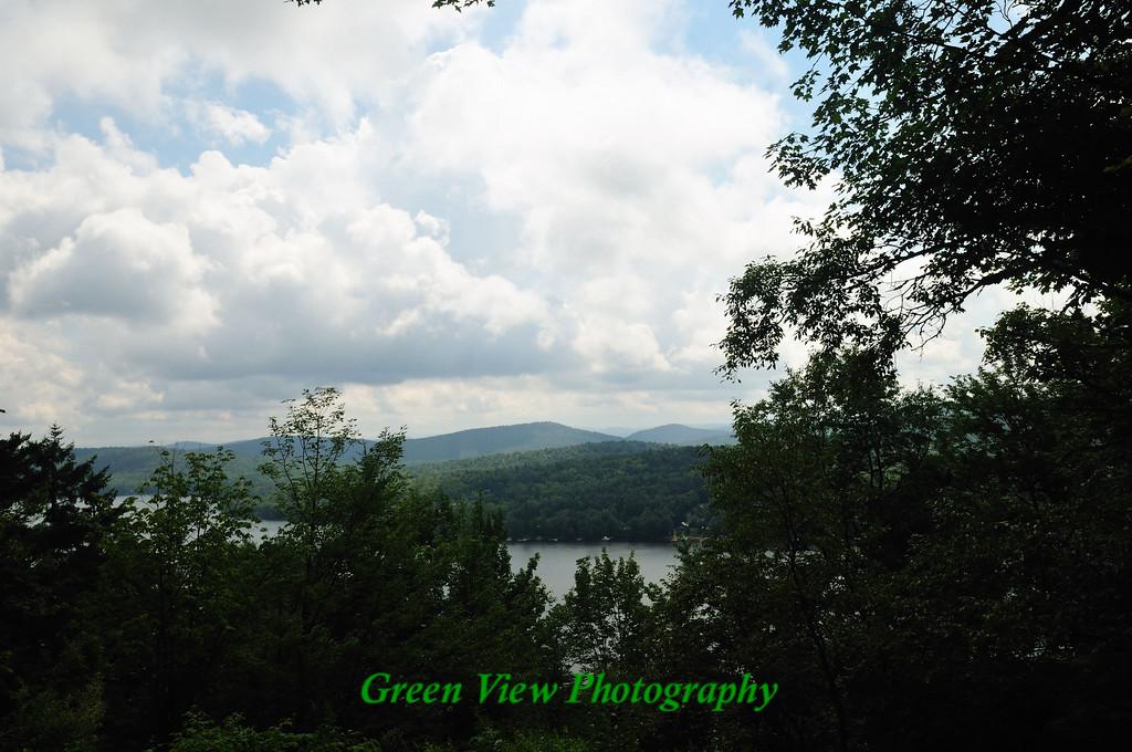 View of Big Moose Lake