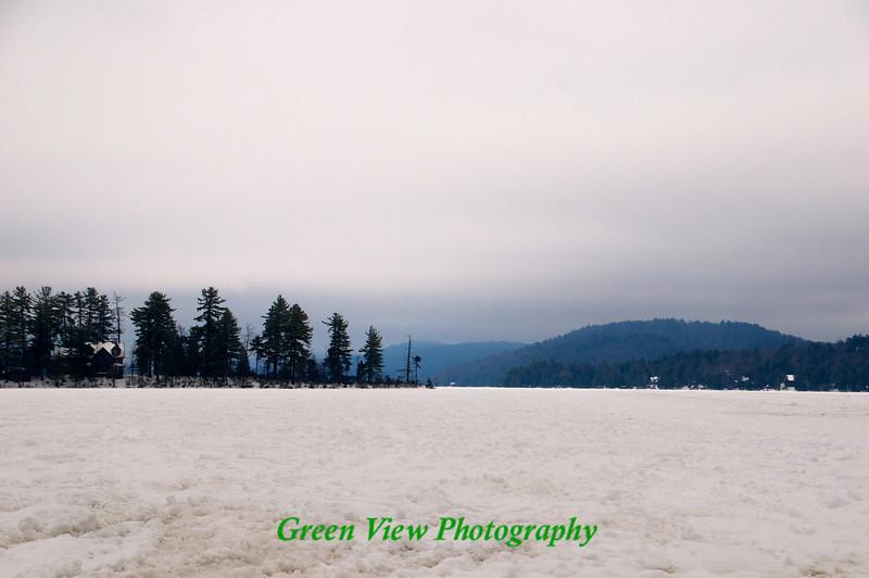 Big Moose Lake Landscape
