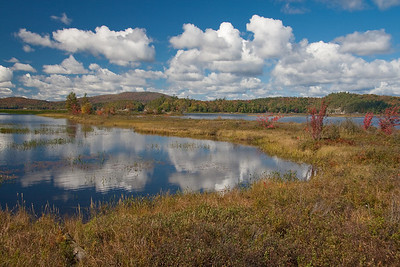 Autumn morning at Tupper Lake