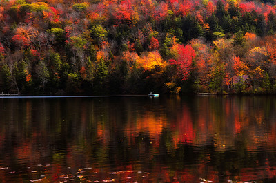 10- Colorful Autumn reflection in