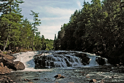 Buttermilk Falls on the Raquette River
