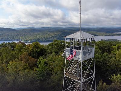Kane Mountain Firetower
