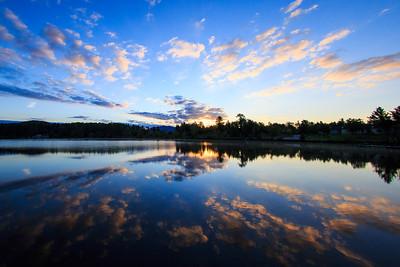 Mirror Lake Sunrise | Lake Placid, NY
