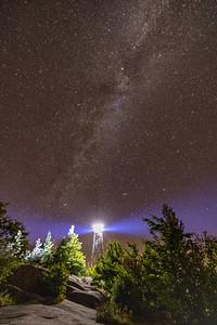 Bald Mt. Firetower Lighting