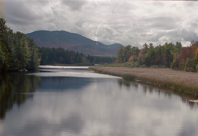 West Branch Ausable River from Rt 86.