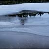 Adirondacks Lake Abenakee Puddle Frozen Surface 6 December 2016