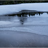 Adirondacks Lake Abenakee Puddle Frozen Surface 6 December 2016