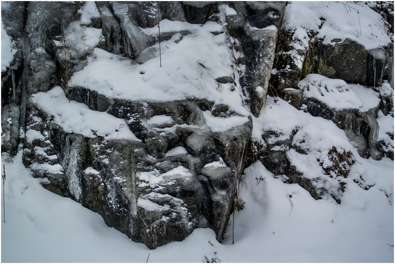 Adirondacks Tupper Lake Rock Outcrop December 2016