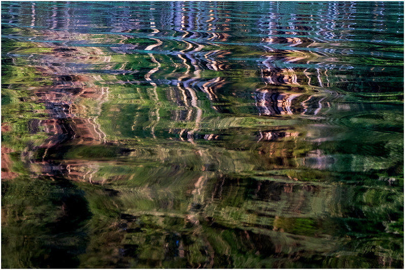 Adirondacks Forked Lake Reflection 7 July 2017