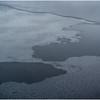 Adirondacks Tupper Lake Backwater with Forming Ice Pattern December 2016