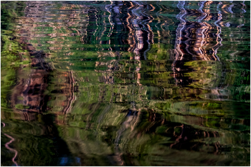 Adirondacks Forked Lake Reflection 6 July 2017