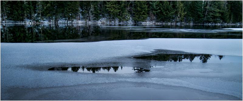 Adirondacks Lake Abenakee 4 December 2016