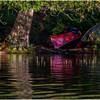 Adirondacks St  Regis Long Pond Canoes on Shore July 2009
