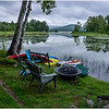 Adirondacks Chateaugay Lake Snug Harbor Trainer Camp Lake View 1 August 2017