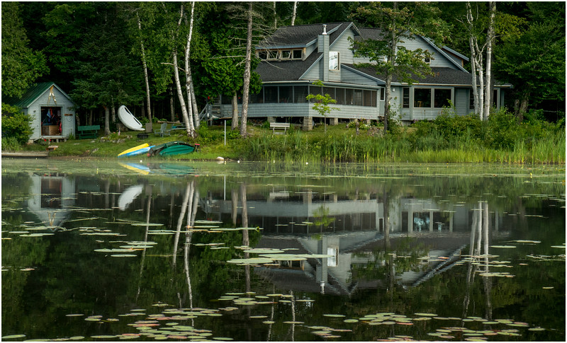 Adirondacks Chateaugay Lake Snug Harbor Camp 1 July 2016