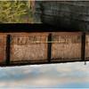 Adirondacks Bog River Railroad Bridge Reflection