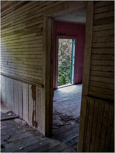 Adirondacks Tahawus Ghost Town Interior August 2008