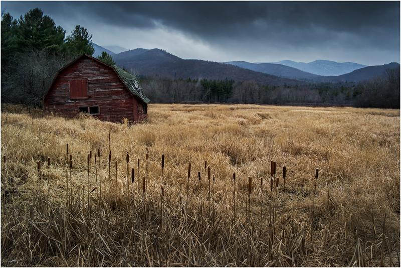 Adirondacks Keene November 2015 Barn 2